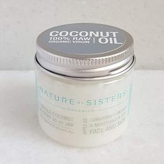 Raw, Organic, Fresh Coconut Oil / Nature by Sisters Raw Organic Coconut Oil, Virgin Oil, Moisturizer, Conditioner, Sisters, Jar, Fresh, Nature, Naturaleza