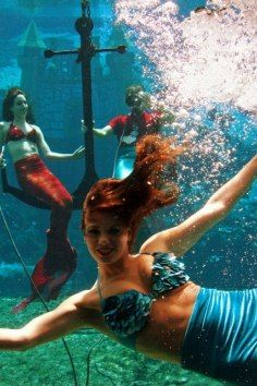 Real live mermaids exist...in Florida!