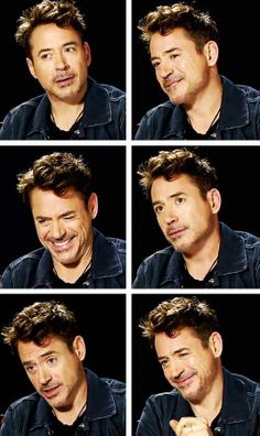 Robert Downey Jr.: cutefaces
