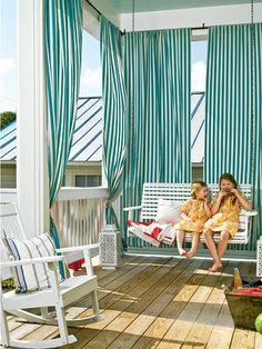 how to transform a common porch