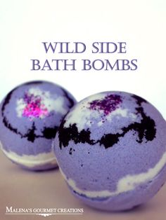Wild Side Bath Bombs by MalenasGourmet on Etsy, $3.00 I just like the color scheme for a DIY