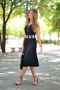 BLACK DRESS | Mi aventura con la moda