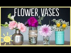 These DIY Vases Are So Easy to Make That You'll Never Buy Vases Again!