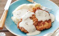 Chicken Fried Steak with Gravy Recipe by Ree Drummond