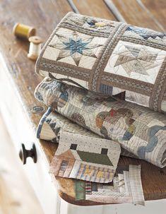 Dos padrões de blocos tradicionais de Yoko Saito