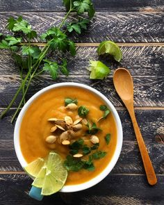 Simple Sweet Potato & Pear Soup  Gluten Free, Holiday, Kid Friendly, Recipe, Vegetarian
