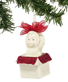 Look what I found on #zulily! Dept. 56 Snow Babies Collection So Giftable Ornament #zulilyfinds
