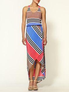 mix use of #stripes #dress