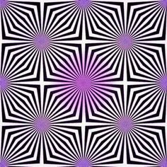 Focus just on the middle spot and the white space looks like it's turning pink/purple too