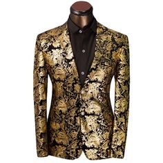 rag & bone Sliver Tuxedo Jacket with Gold Shawl Collar ($179 ...