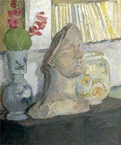 Vanessa Bell, Still Life with a Plaster Head, 1947