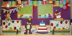 Birthday Layout - Precious Memories by Julie