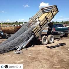 #Repost @jester421a with @repostapp.  Dropping off some scrap...