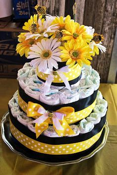 mommy to bee diaper cake