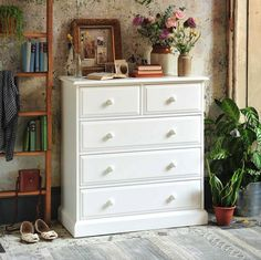 White chest of drawers | You Need to Know About...The Cotswold Company