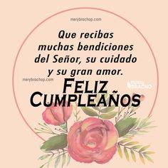 Spanish Birthday Wishes, Happy Birthday Notes, Happy Birthday Wishes Cards, Happy Birthday Celebration, Happy Birthday Pictures, Happy Wishes, Birthday Quotes, Birthday Greetings, Good Night Wishes
