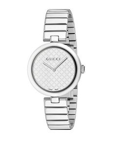 Gucci Diamantissima Stainless Steel Watch Women's Silver