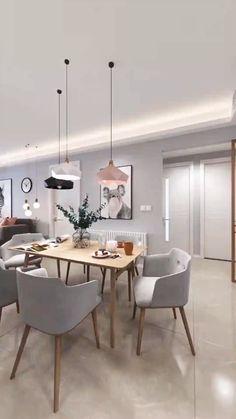 Kitchen Room Design, Home Room Design, Interior Design Living Room, Living Room Designs, Living Room Decor, House Design, Kitchen Ideas, Kitchen Decor, Bedroom Decor