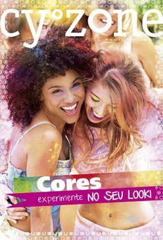 Revista Cy°Zone Setembro 2014  Sempre voltada para o publico jovem, a Revista Cy°Zone de Setembro traz muitas promoções e dicas. Aproveite para ficar sempre na moda com as dicas na revista Cy°Zone e na página em http://www.cyzone.com.br/. Na página você encontrará o Maquiador onde poderá combinar as cores e acessórios na sua foto e depois mostre o resultado, LookBook, para você ficar sempre na moda. Roupas e acessórios para você criar seus looks com atitude. Lembre-se que, Cy°Zone é a marca…
