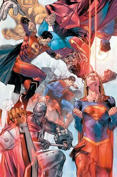 Superman by Clay Mann
