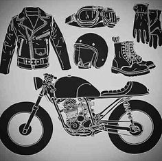 Motorcycle Party, Motorcycle Gifts, Motorcycle Tattoos, Bobber Motorcycle, Motorcycle Quotes, Motorcycle Style, Motorcycle Design, Motorcycle Outfit, Biker Style