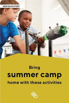 Sending children off to camp is a classic summertime activity, but can be costly for some families (or your plans may have been thwarted by the current pandemic). But not to worry: It's easy to DIY your own summer camp at home with materials you already have on hand—and with some help from Education.com's free resources! Kindergarten Activities, Summer Activities, Reading Resources, English Vocabulary, Kid Friendly Meals, Kids Learning, Summer Fun, Lesson Plans, Summertime
