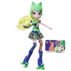My Little Pony Equestria Girls Shadowbolts Lemon Zest Sporty Style Roller Skater Doll
