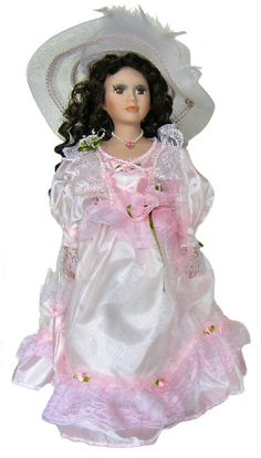 Victorian Porcelain Doll-Stunning Victorian doll-Porcelain Victorian Doll-Edith