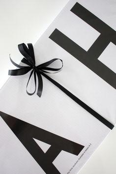 homevialaura   Arne Jacobsen   Design Letters   wedding gift   gift wrapping