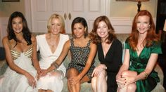 DH ladies: Teri Hatcher, Felicity Huffman, Eva Longoria, Dana Delaney, and Marcia Cross