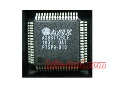 AX88772BLF QFP-64 Ethernet controller IC http://www.htic-tool.com/ax88772blf-qfp64-ethernet-controller-ic_p982.html