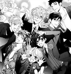 Ohshc manga style wallpaper