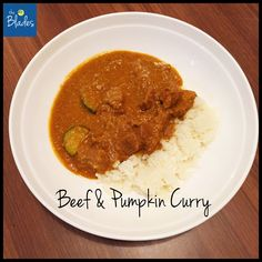 This super easy and nutritious Beef & Pumpkin Curry Thermomix recipe can be on your table in an hour. Sweet, mild and delicious!