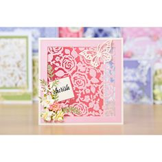 Tattered Lace Rose Garden Panel Essential Die (363821)   Create and Craft