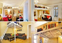 Ingenious Ideas For Small Apartments