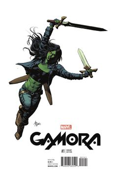 New Gamora comic is awesome :)