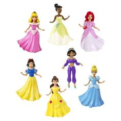 things the dog ate Disney Princess Small Doll Collection Jasmin Cinderella Tiana Aurora Belle Snow White Ariel #celebnyc #magiclip