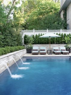 i want to live at that house with that pool. outdoor pool. beautiful homes. outdoor living.