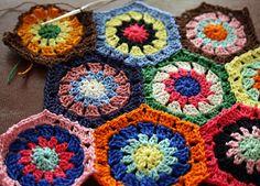 hexagons by molly dunham, via Flickr