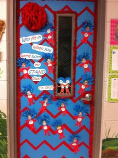 Dr. Seuss Classroom Door | My Awesome