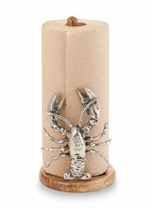 Beach Decor.  Lobster Paper Towel Holder