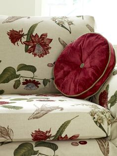 Swaffer Legacy is a collection of our best selling and well loved traditional British floral prints. Featuring designs such our popular Landsdowne, Victoria Gardens, Mallory and Bellagio accompanied by our sumptuous Venice and Nocturne velvets Floral Chair, Floral Fabric, Floral Prints, Panel Blinds, Fabric Blinds, Prestigious Textiles, Beautiful Curtains, Fabric Suppliers, Curtain Designs