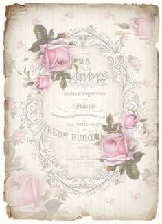 JanetK.Design Free digital vintage stuff: Rozen,rozen en nog ns rozen