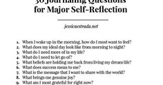 How to Journal + 30 Journaling Questions for Major Self-Reflection | Journaling