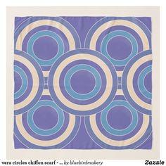 Shop vera circles chiffon scarf - sanctuary created by bluebirdmakery. Chiffon Scarf, Chiffon Fabric, Freya Bikini, Circle Design, Accent Pieces, Circles, Vintage Inspired, Scarves, Tapestry