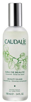 Caudalie Beauty Elixir - with the use of grape extract, it's amazingly refreshing and restorative for your skin.