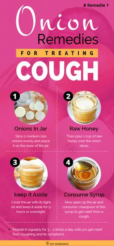 How to use Onions for Cough    Method – 1: (Onion with Honey)    Both onion and honey have antibacterial and antiviral properties that fight against the microbes causing cough. Honey has a great soothing and moisturizing property that relieves you from both dry and wet cough.  #Cough #Honey #Onion #wetCough