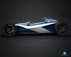 Seat Formula 1430 Concept - Car Body Design