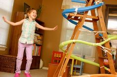 more noodle fun. why do i love marble runs so much??