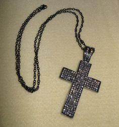 Faith is Love/Beautiful Swarovski crystal by CreationsbyMaryEllen, $21.99